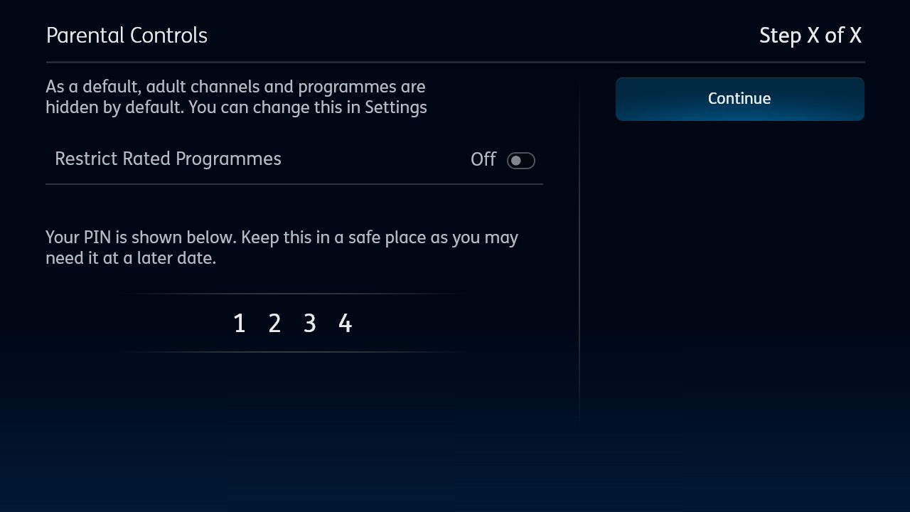 YouView setup welcome image